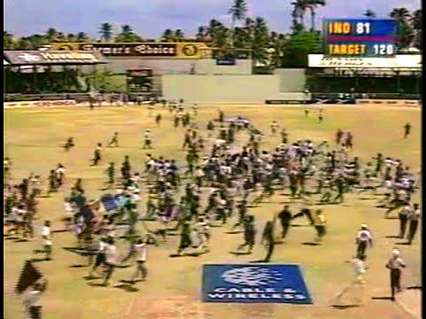 India's greatest loss against the West Indies -1997