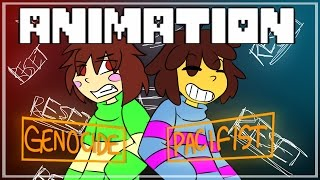 UNDERTALE ANIMATION | COPY CAT thumbnail