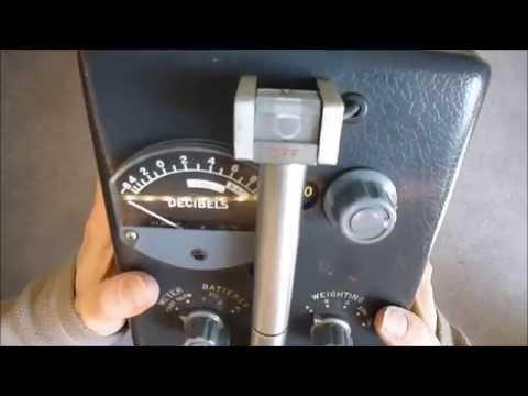 Flea market treasure vintage General Radio Type 1551 C sound level meter