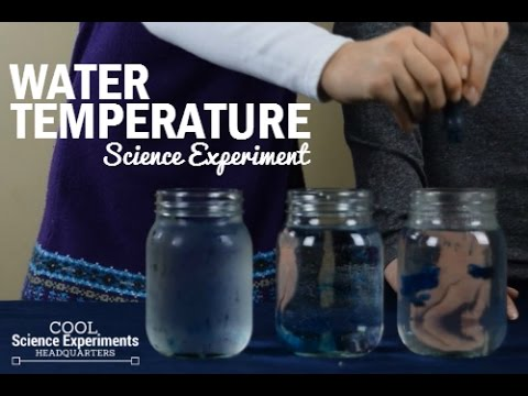 Water Temperature Science Experiment - Why Does Food Coloring ...