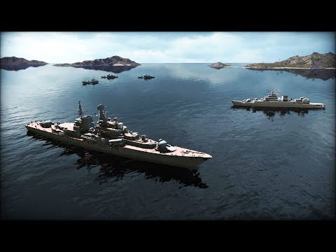 BREAKING: CHINESE FLEET ATTACKS BRITISH & FRENCH CARRIERS | Wargame: Red Dragon Gameplay