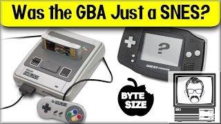 Was the Gameboy Advance Just a Super Nintendo? [Byte Size] | Nostalgia Nerd