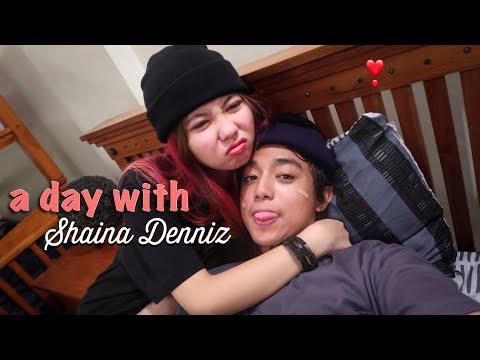 A DAY WITH SHAINA DENNIZ