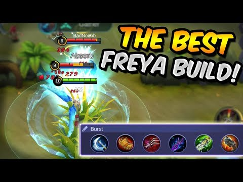 THIS FREYA BUILD MAKES YOU GET FREE WINS! MOBILE LEGENDS