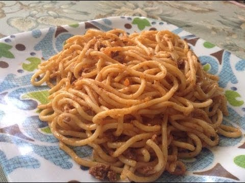 how to prepare jollof spaghetti with sardine