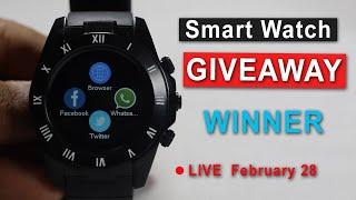 SmartWatch Giveaway Winner