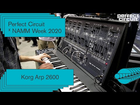 NAMM 2020: Korg Arp 2600 FS Sounds