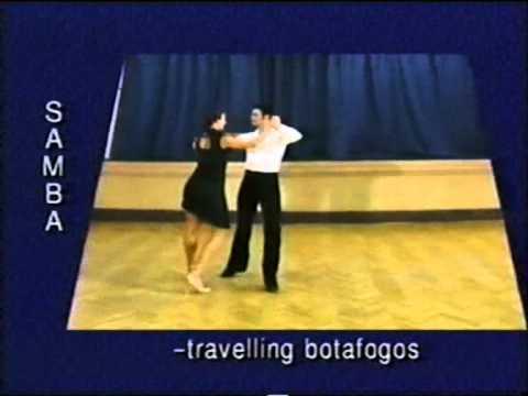 Samba dance steps 11. Travelling botafogos