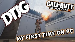 My First Time On PC!! with a little Sniping Montage - Call of Duty Black Ops 3