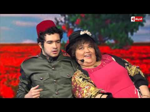 سكتش محمود تركي ابن الجنايني وبنت الباشا HD | نجم الكوميديا
