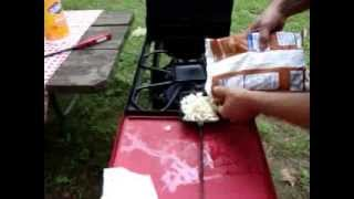 Pie Iron - Hash Browns