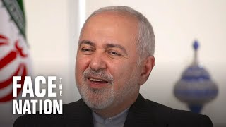 "Iranian Foreign Minister Javad Zarif ""not confident"" war can be avoided"