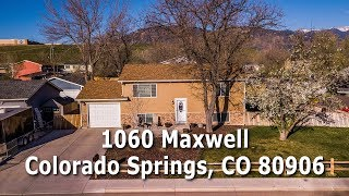 1060 Maxwell St. - Colorado Springs, CO 80906 - MLS# 9127624