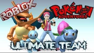 ROBLOX - Pokemon Adventures - My new team + Pokemon Battle