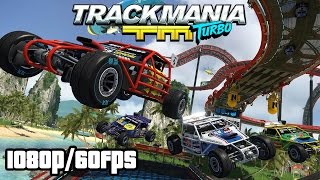 Trackmania Turbo Walkthrough PART 1 (PS4) Gameplay No Commentary @ 1080p (60fps) HD ✔