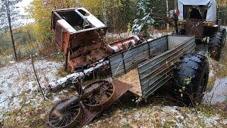 Добротный металл. Один в лесу. Зап части от 55 ки.