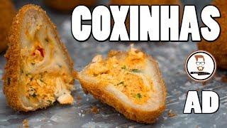 COXINHA | Brazilian Style Chicken Croquettes