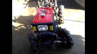 видео Переделка мотоблока в мототрактор (часть 2, установка базового кит-набора)