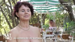 Bande-annonce magazine naturiste Natmag 45 - Janvier 2016 #naturisme