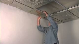 Introduction to 3D Drop-in Tin Ceilings
