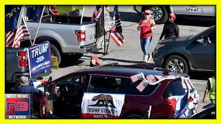 MAGA Supporters SHOW UP after Traditional Rose Bowl Parade Gets the Boot