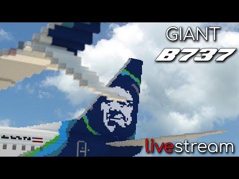 Building the Giant 737 (PART 2)! Livestream + Q&A!