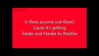 Harder to Breathe - Casey Abrams (Lyrics)