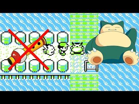 Relaxo überspringen Ohne Flöte - Pokemon Glitch (Gelb, Rot Und Blau)