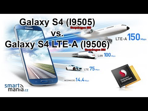 Samsung Galaxy S4 LTE-A (Snapdragon 800) vs. Galaxy S4 (Snapdragon 600)
