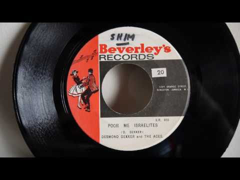 Desmond Dekker \u0026 The Aces ‎– Poor Me Israelites / Beverleys All Stars - Fly Right (1968) - Jamaica