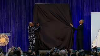 barack obama portrait revealed