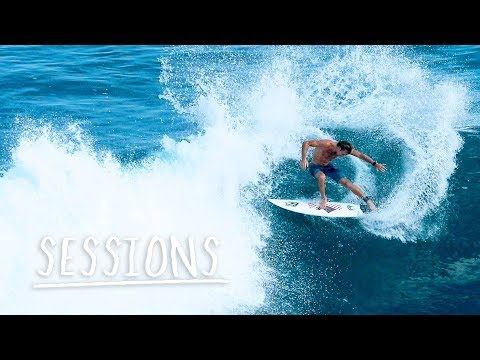 The World Tour Free Surfs At Pumping Ulu...
