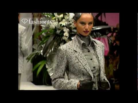 FLASHBACK: Jean Louis Scherrer Fall/Winter 1997-98 Haute Couture | Paris Fashion Week | FashionTV