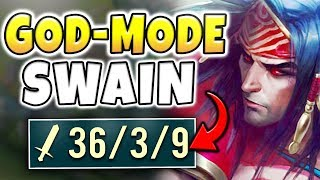 THIS REWORKED SWAIN BUILD WILL BE NERFED! INFINITE TANKINESS, HEALING, AND ONE-SHOTS! (SWAIN REWORK)