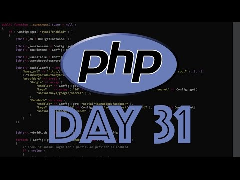 PHP Web Framework Day 31 - SSO/Auth Part 1