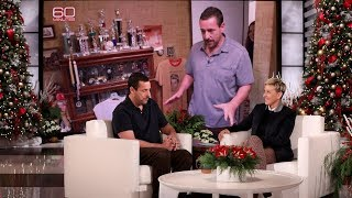 Adam Sandler Is Proud of His Sports Trophies in His Childhood Bedroom