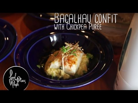 Portuguese Food : How to cook Bacalhau Confit
