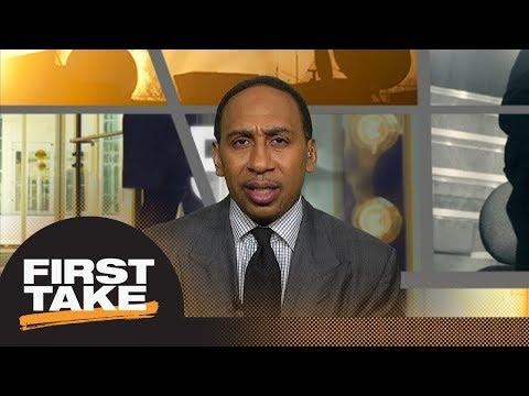Stephen A: Sterling Browns arresting officers joke on social media is sad  First Take  ESPN