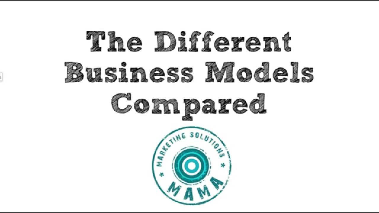 The Different Business Models Compared | How to Choose the Right ...