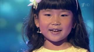 Юная певица Виктория Ким 5 лет, отлично спела на шоу Лучше всех!