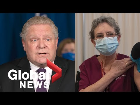 Ontario to invest $115 million to recruit personal support workers at long-term care homes | FULL