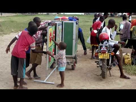 Tanzania 2014: BT volunteers visit Comic Relief projects