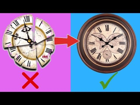 Wall Clock Decoration Idea | Best out of Waste | DIY Room Decoration Idea | Handmade Craft Quick Art