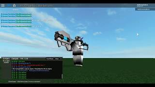 Roblox Gladiator Gun Script FE