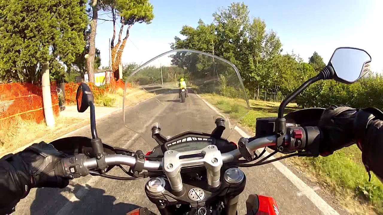 ducati hyperstrada test ride onboard - youtube
