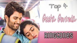 Top 4 Geeta Govinda (Geetha Govindam)  Ringtones | Geeta Govinda BGM Ringtones | New South Ringtones