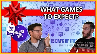 What are Epic's 15 FREE Mystery Games?!?
