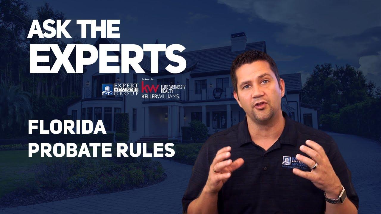 Ask the Experts: Florida Probate Rules - Jon Wanberg
