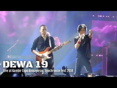 DEWA 19 ft Once - Air Mata | Live at Kemayoran Synchronize 2018