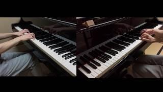 【ピアノ】パレード / ヨルシカ 2台ピアノで弾いてみた (Parade / Yorushika)